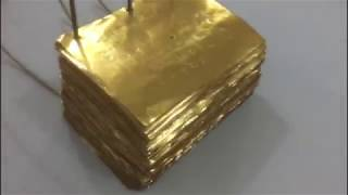 boy finds $30,million dollars worth of gold plates in backyard