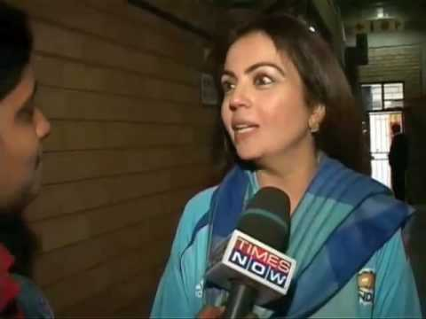 Neeta Ambani Excited On Mumbai Indians WIn