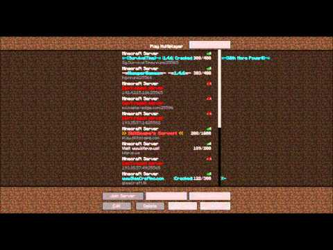 Minecraft 1.5.2 Cracked Server IP [24/7] [No-Lag] [Hunger-Games]