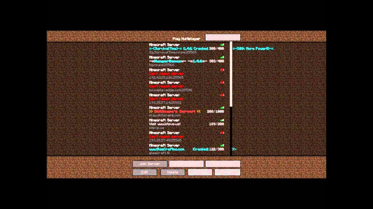Minecraft 1.8 Server ip 24/7