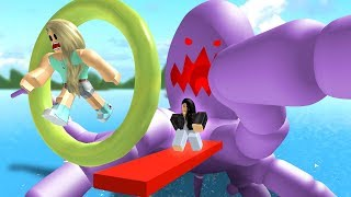 MOST DIFFICULT OBSTACLE COURSE! (Roblox) W/Leah