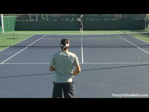 Roger Federer Rallies in HD