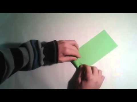 Origami para principiantes  #1 Tipos de pliegues  [Origami - Papiroflexia]