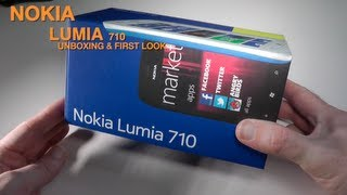 Nokia Lumia 710 Unboxing & First Look