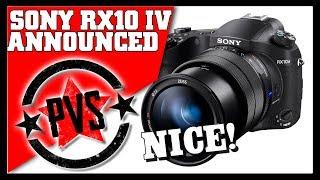 Sony RX10 IV Announced!