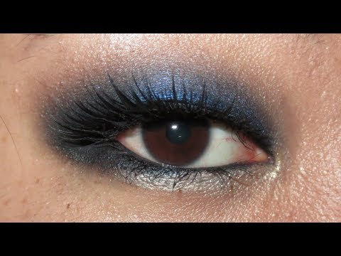 Sultry Midnight Blue (Monolid Makeup Tutorial)