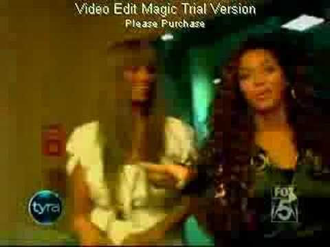 BEYONCE EXCLUSIVE at TYRA BANKS SHOW PART1