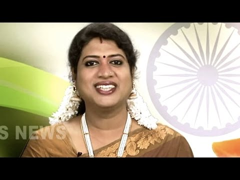 India's First Transgender News Anchor, Padmini Prakash