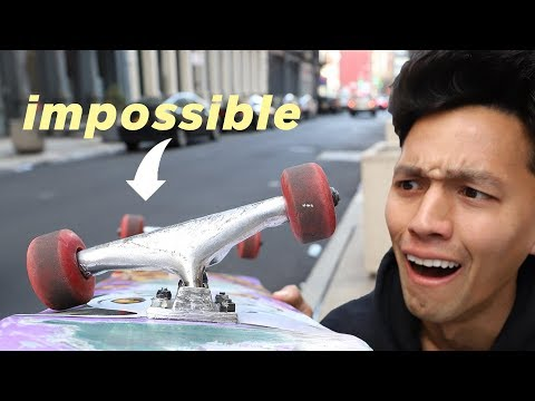 LOOSEST POSSIBLE Skateboard Trucks | Brett Conti VS John Hill
