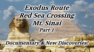 Video: Moses and Red Sea exodus route to Mount Sinai in Saudi Arabia - HolyLandSite