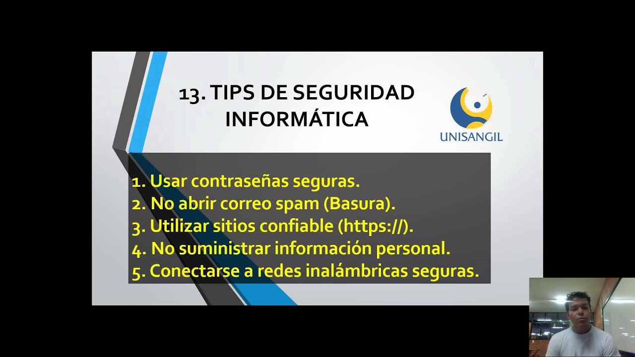 Tips Seguridad Tips de Seguridad Informática