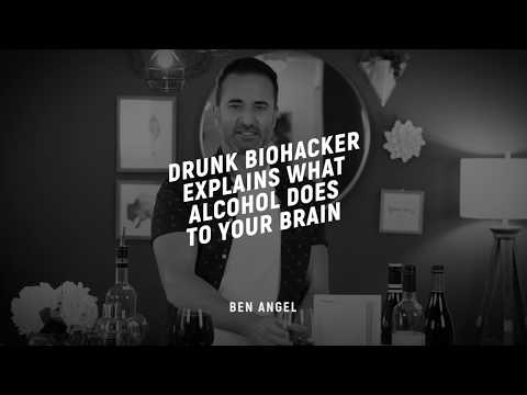 Drunk Biohacker Explains What Alcohol Does to Your Brain