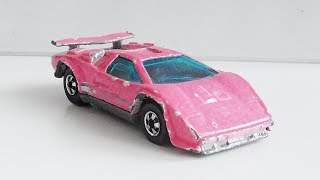 Hot Wheels Restoration Custom - 1988 Lamborghini Countach