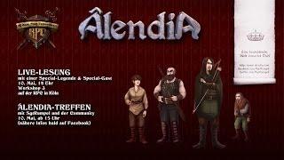 Âlendia auf der RPC mit Genesis Cover und Geheiminformationen
