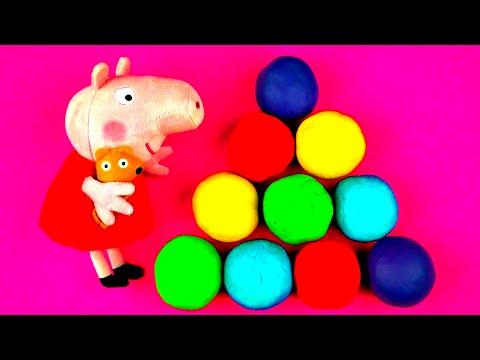 Peppa Pig Play-doh Surprise Eggs Disney Frozen Cars 2 Hello Kitty Spongebob Monsters Inc Fluffyjet video