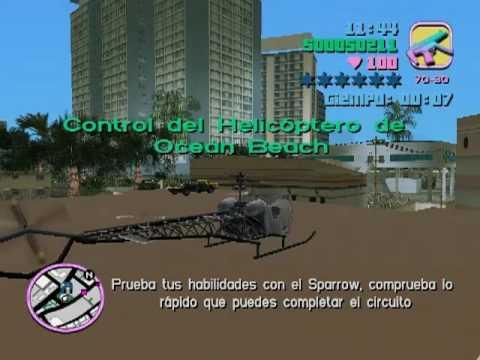 El helicoptero oculto de Vice City