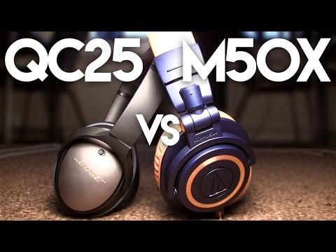 M50x vs QC25 Comparison