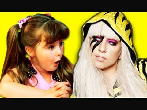 KIDS REACT TO LADY GAGA