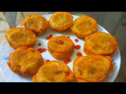 বিফ পটেটো চপ||Bangladeshi Beef Potato Chop Recipe||ইফতারি স্পেশাল রেসিপি ||