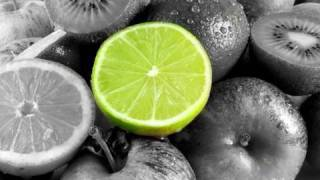 Tutorial Photoshop CS3 - color splash - partial black and white