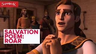 "Superbook ""Roar!"" - The Salvation Poem"