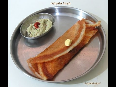 Masala Dosai Recipe In Tamil video