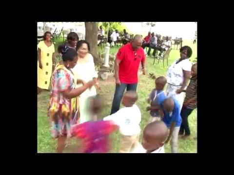 Vice President does the Azonto