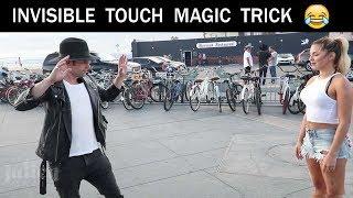 INVISIBLE TOUCH MAGIC TRICK 😵😵-Julien Magic