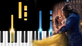 Céline Dion - How Does A Moment Last Forever - Piano Tutorial - Beauty and the Beast soundtrack