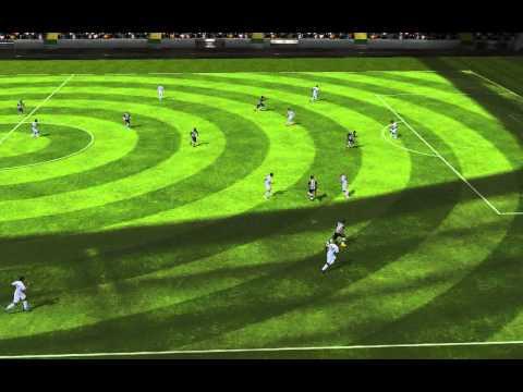 FIFA 14 Android часть 1 красивый гол !