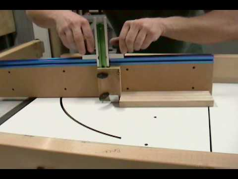 Miter Gauge for Table Saw Sled.AVI