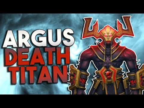 Argus, Titan of Death and Crafter of the Shadowlands?!