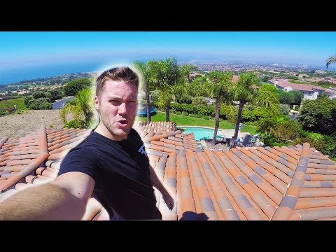 CLIMBING ON TOP OF $10,000,000 HOUSE