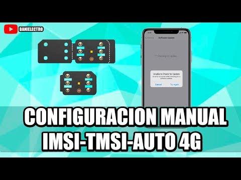 Configuración Manual (con IMSI) R-SIM 12