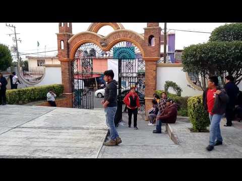 Cacalomacan Grupo CACALOT festejando dia de la Santa Cruz