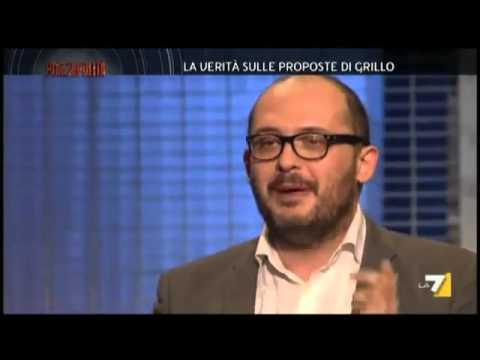 Mello a Piazzapulita: ecco il lato oscuro di Grillo e Casaleggio