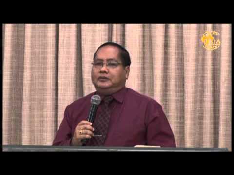 Rev Dam Suan Mung preaching at Full Gospel Assembly, Myanmar Service, June 14, 2015