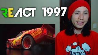 React 1997 Carros 3 (Cars 3, 2017) - Teaser Trailer 2 Legendado
