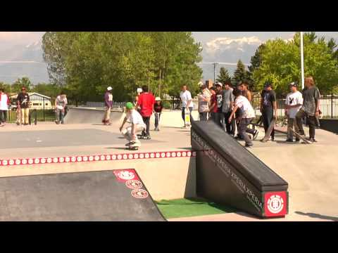 ELEMENT &quot;SALT LAKE CITY&quot; MAKE IT COUNT - 2012 INTERNATIONAL SKATE CONTEST SERIES
