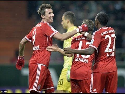 W. Bremen-Bayern 0-7 Ribery Götze Goals win it! Review & Match Reaction