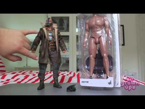 Ungrownups Video Transmission: Hot Toys Bane and True Type 20 Muscular Body Swap