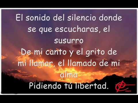 El Sonido Del Silencio con letra - Alex Campos