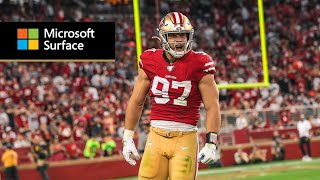 NFC Defensive Player of the Week Nick Bosa talks MNF vs. Browns and previews Week 6 vs. Rams | 49ers