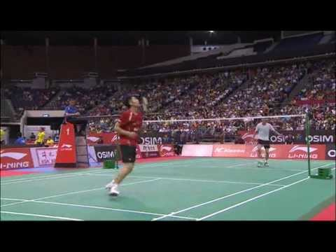 SF - MS - Lin Dan vs. Peter Hoeg Gade - Li Ning Singapore Open 2011