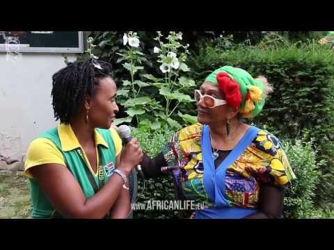 Interview Marcia Griffiths, 04.08.2013, Reggae Jam, Bersenbrück