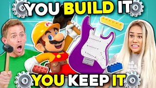 Can YOU Build A Guitar In 30 Minutes? | You Build It, You Keep It