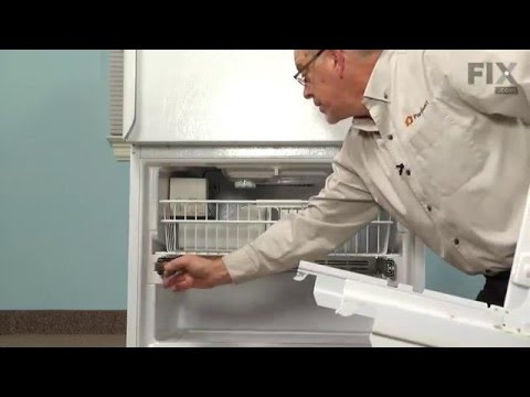 Amana Refrigerator Repair – How to replace the Defrost Thermostat Kit