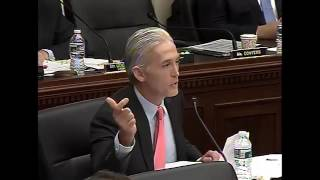 Rep. Gowdy Questions Attorney General Lynch