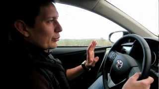 Toyota Auris 2013: главред журнала Motor News Андрей Волощенко