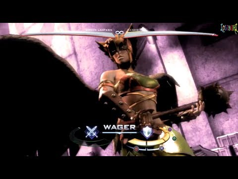 Injustice Gods Among Us Hawkgirl All Unique Clash Quotes